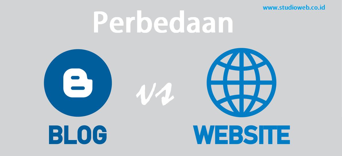 Perbedaan-Blog-dan-situs-web